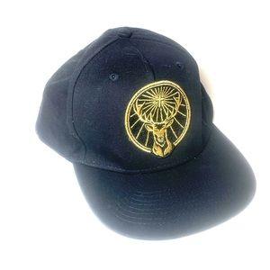 Jagermeister Black & Gold Snap Back Hat